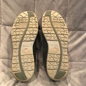 Clarks Shoes - Clarks Black Suede Wingtip Oxfords